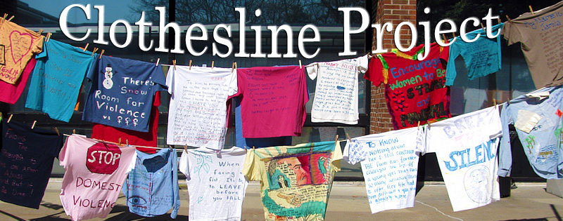 Clothesline Anchorage Gorgeous The Clothesline Project Fighting Violence Against Women